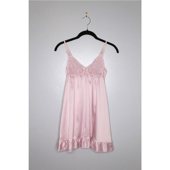 609b90bfddcfb Oysho Intimates & Sleepwear | Nwot Zara Size M Pink Babydoll | Poshmark